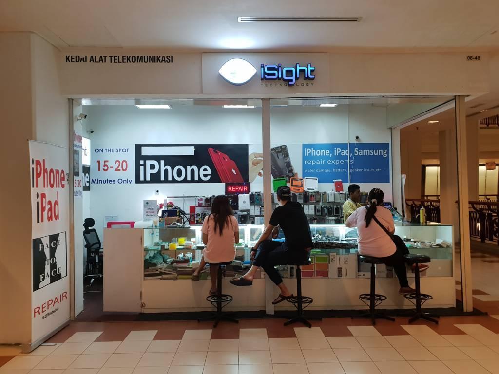 Isight technology - Berjaya Times Square, Kuala Lumpur