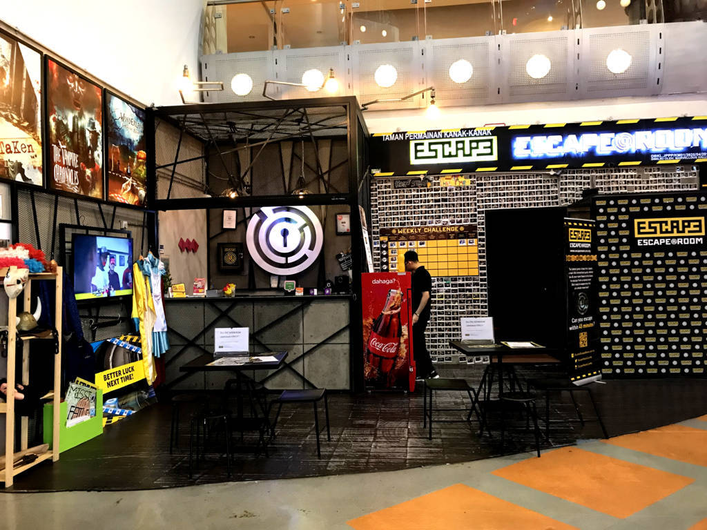 Escape Room Berjaya Times Square Kuala Lumpur
